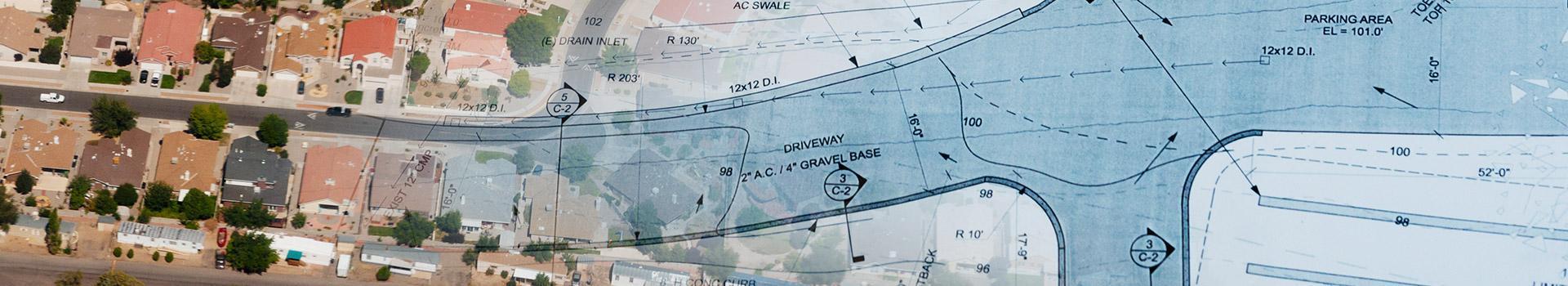 Mapa z projektem
